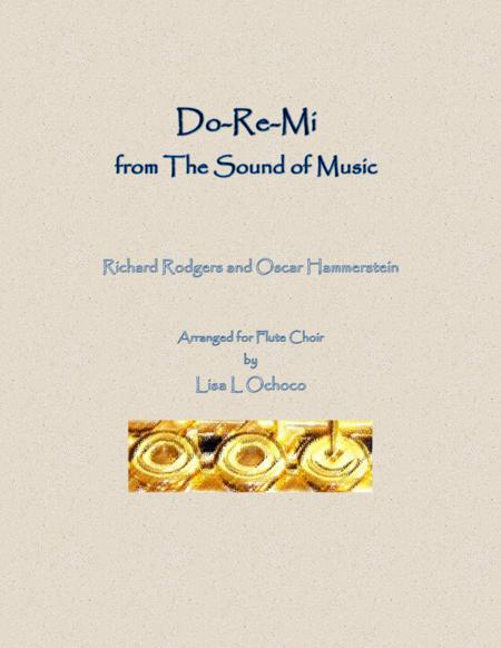 Do-Re-Mi from The Sound of Music for Flute Choir