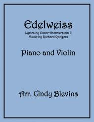 Edelweiss, arranged for Piano and Violin