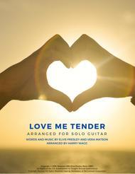 Love Me Tender (Solo Fingerstyle Guitar)