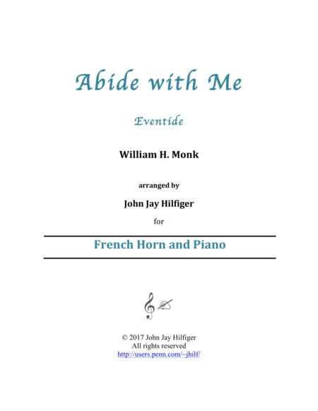Abide with Me for horn and piano