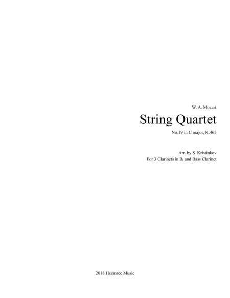 String Quartet No. 19