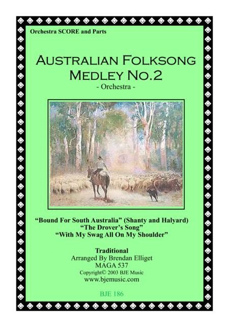 Australian Folksong Medley No. 2 - Orchestra