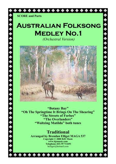 Australian Folksong Medley No. 1 - Orchestra