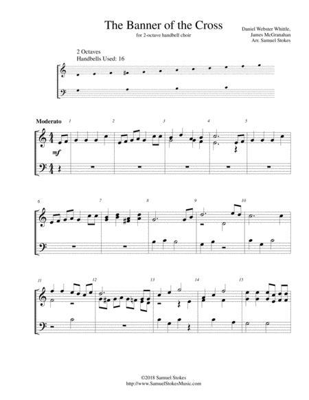The Banner of the Cross - for 2-octave handbell choir