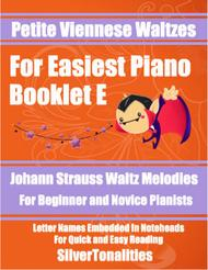 Petite Viennese Waltzes for Easiest Piano Booklet E