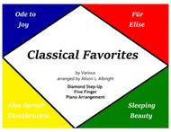 Classical Favorites for Five Finger Piano