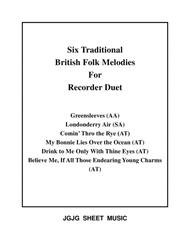 Six Traditional British Songs for Recorder Duet