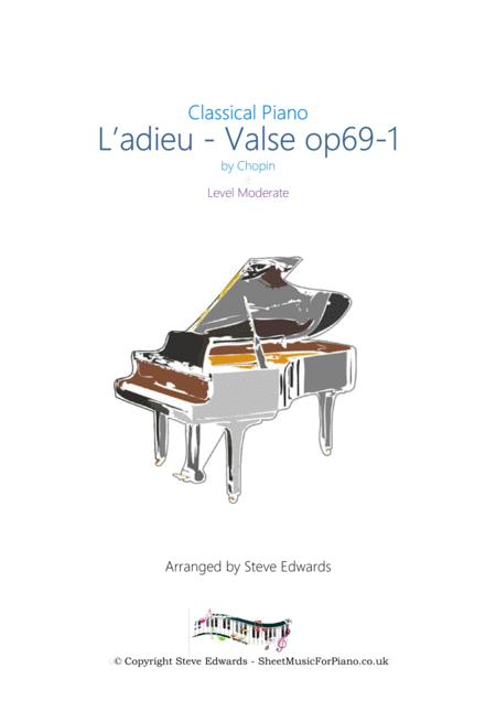 L'adieu - Valse op 69-1 Chopin - Made easier