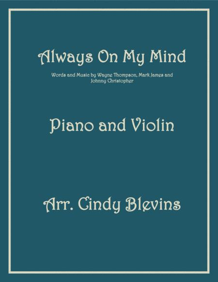 Always On My Mind, arranged for Piano and Violin