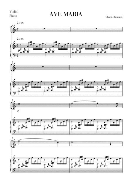 Ave Maria for Violin