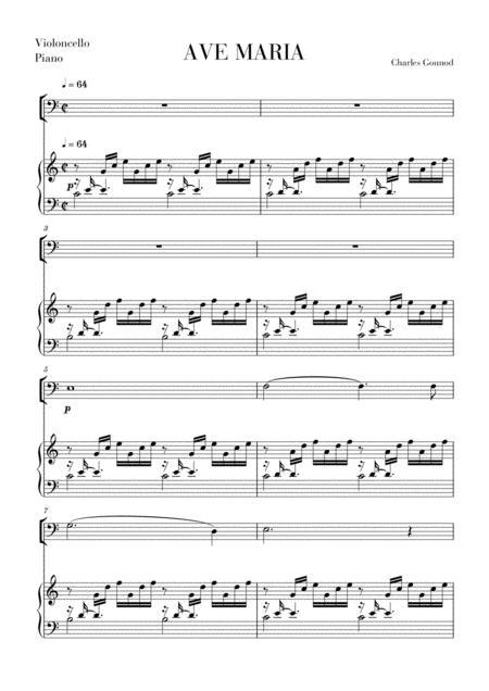 Ave Maria for Cello
