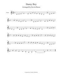 Danny Boy - Violin
