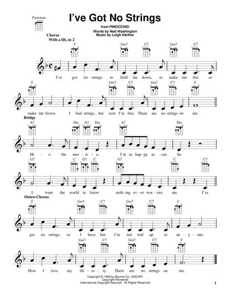 I've Got No Strings