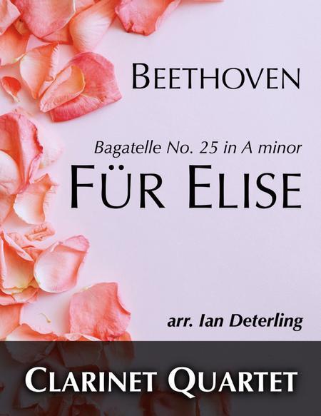 Für Elise (for Clarinet Quartet)