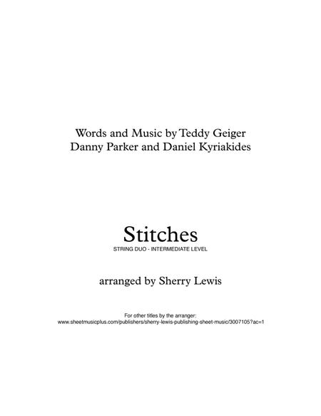 Stitches STRING DUO (for string duo)