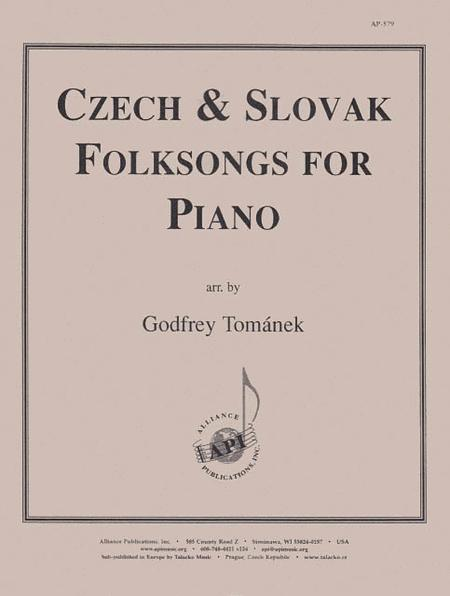 Czech & Slovak Folksongs for Piano