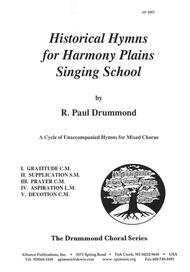 Historical Hymns for Harmony Plains Singing School