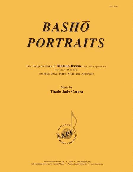 Basho Portraits -voc-fl-vln-pno