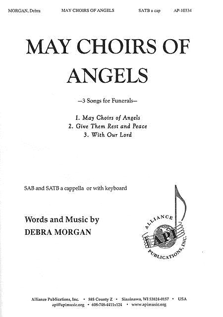 May The Choirs Of Angels Sheet Music By Debra Morgan - Sheet