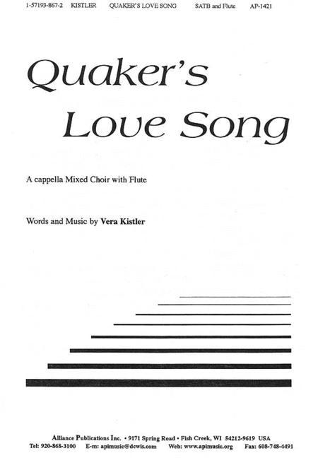 Quaker's Love Song