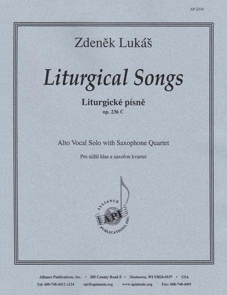 Liturgical Songs For Alto Voice & Sax 4