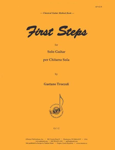 First Steps - Gtr Method Book -