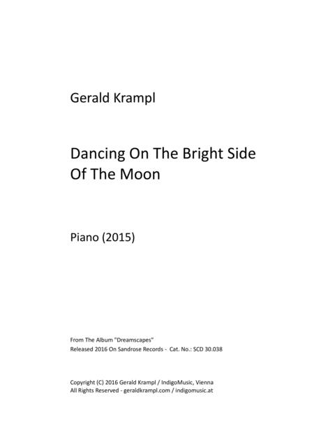 Dancing On The Bright Side Of The Moon