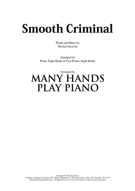 Smooth Criminal