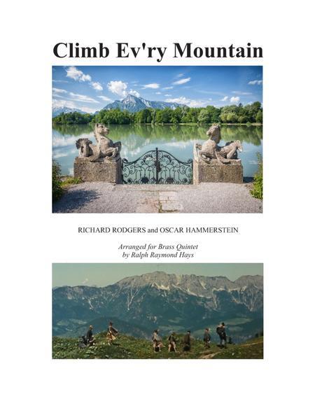 Climb Ev'ry Mountain (for brass quintet)
