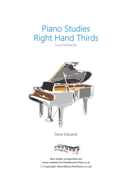 Right Hand Thirds Study - Piano Solo