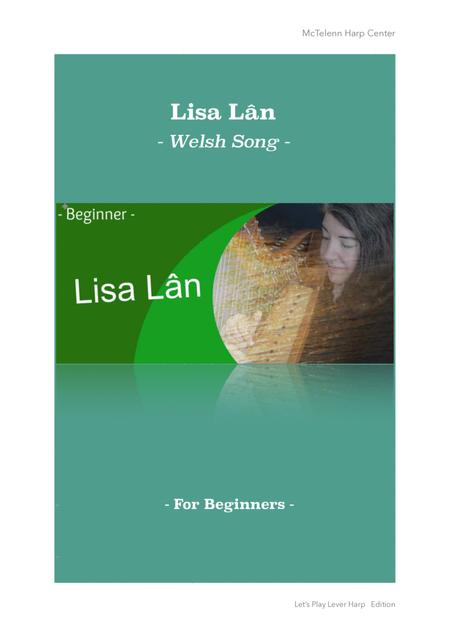 LISA LAN - FOR LEVER HARP ( HARPSICLE AND LESS) OR PIANO - BY EVE MCTELENN