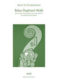 Baby Elephant Walk - String Quartet/Orchestra
