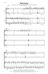 Get Lucky (Daft Punk) - Piano Duet
