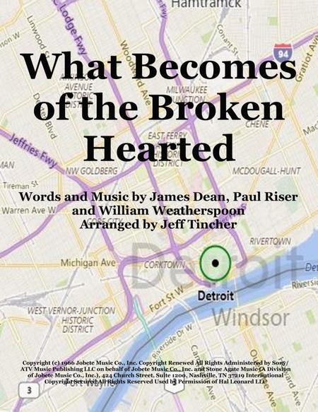 Download What Becomes Of The Broken Hearted Sheet Music By Jimmy ...