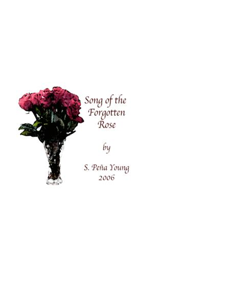 Song of the Forgotten Rose for Soprano and Piano