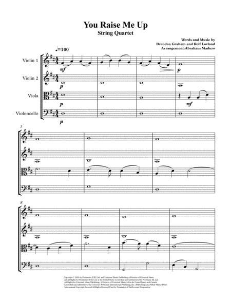 You Raise Me Up By Josh Groban Wedding String Quartet