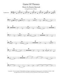 Game Of Thrones (Easy key of C) - Euphonium