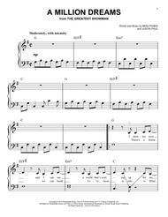 Download A Million Dreams (from The Greatest Showman) Sheet Music By
