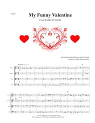 My Funny Valentine (for string quartet)