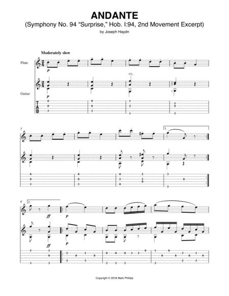Surprise Symphony (Symphony No. 94, Hob. I:94, Second Movement Excerpt)