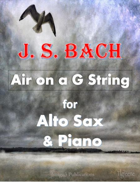 Bach: Air on a G String for Alto Sax & Piano