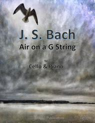 Bach: Air on a G String for Cello & Piano