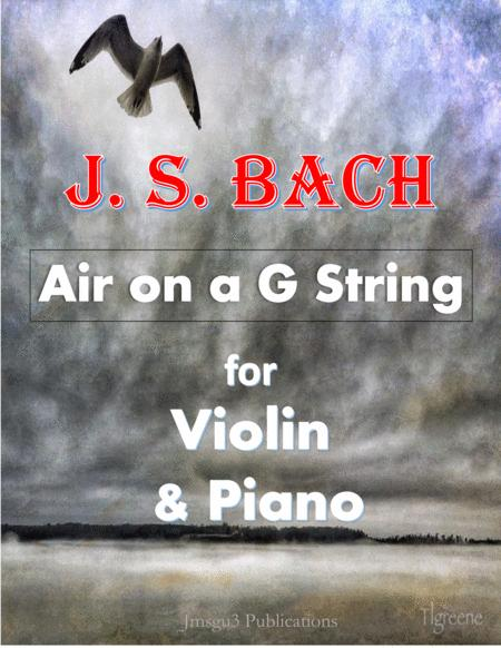Bach: Air on a G String for Violin & Piano