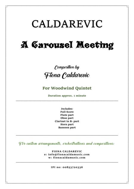 A Carousel Meeting - for woodwind quintet