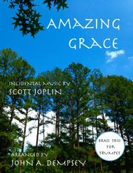 Amazing Grace / The Entertainer (Brass Trio for Trumpet)