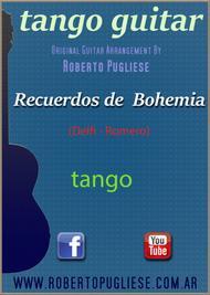 Recuerdos de bohemia - Tango guitar