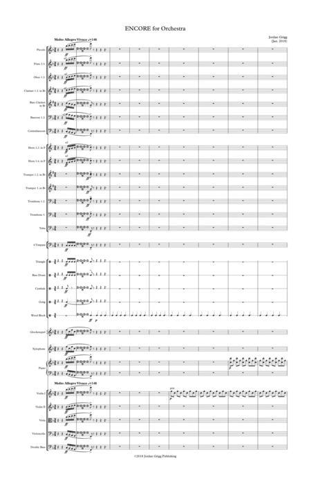 ENCORE for Orchestra