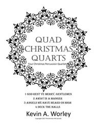Quad Christmas Quarts - Four Christmas Percussion Quartets