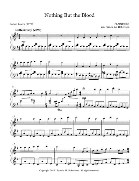 Nothing But The Blood of Jesus - Piano Solo