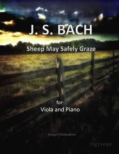 Bach: Sheep May Safely Graze for Viola & Piano